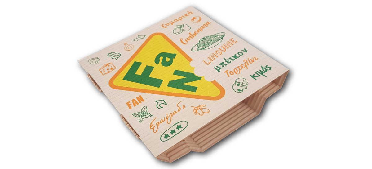 Pizza Fan Box
