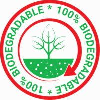 100% Biodegradable