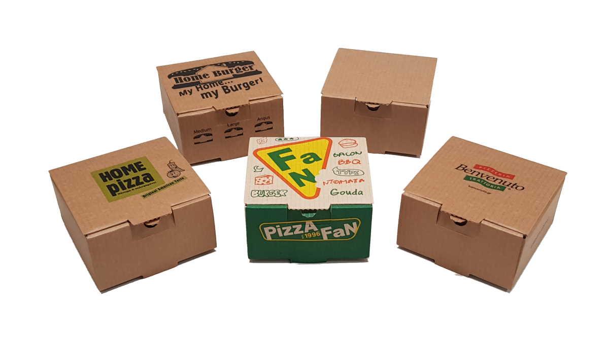 Small Burger Boxes