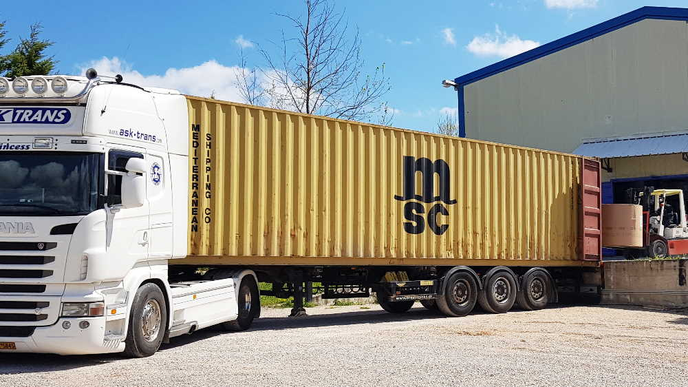 Shipment Truck