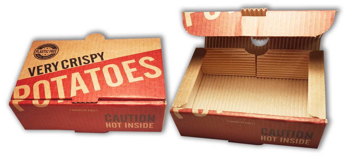Crispy Potatoes Box