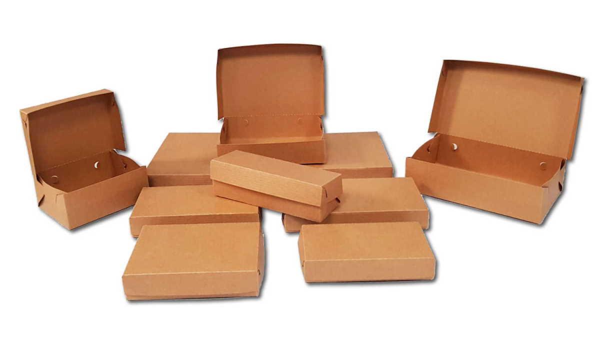 empty polykraft boxes