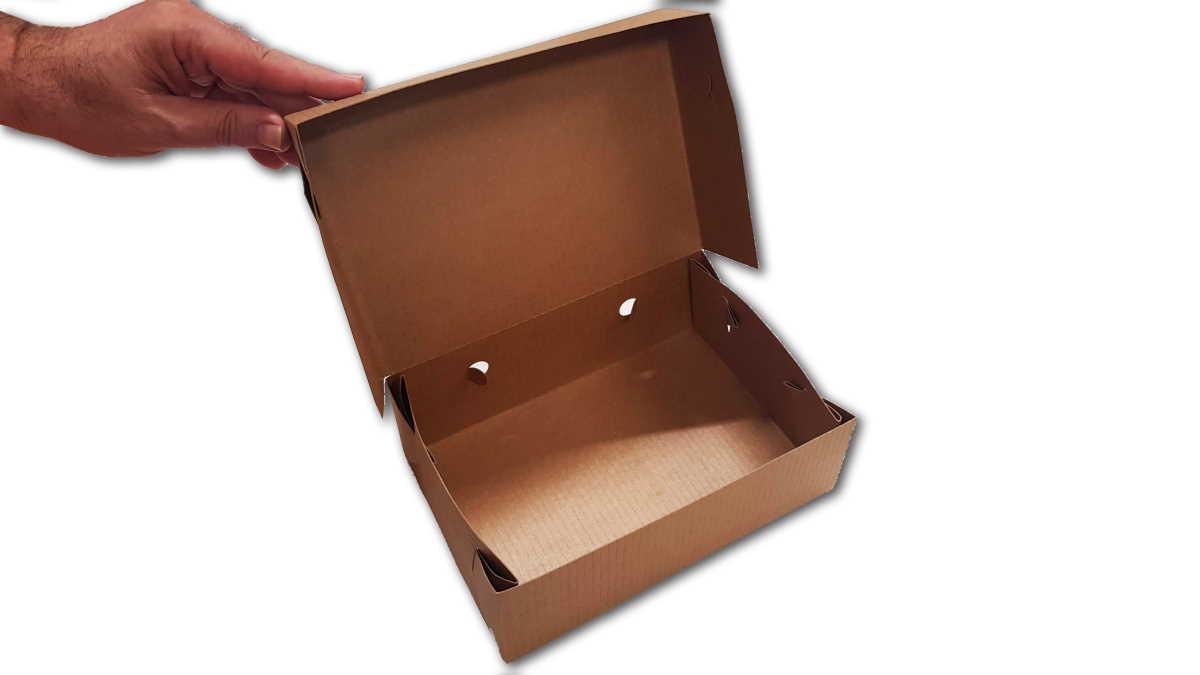 Empty Polykraft Box